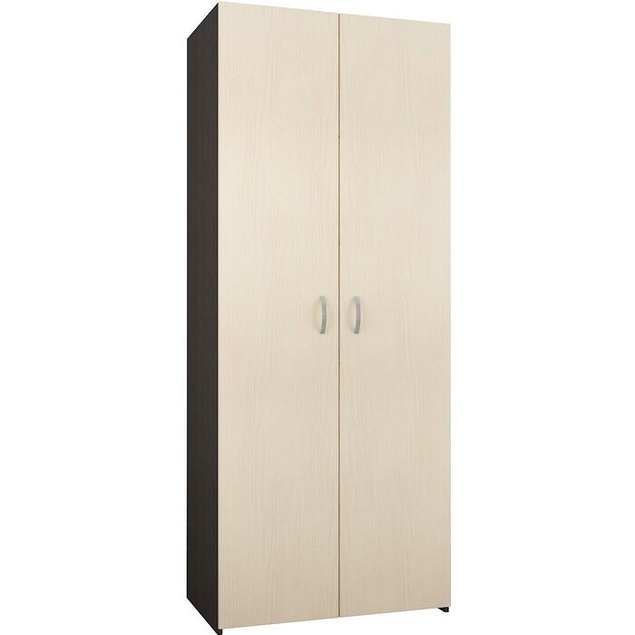 Распашной шкаф Мастер Уно-38 венге/дуб молочный МСТ-УШО-38-ВД-16