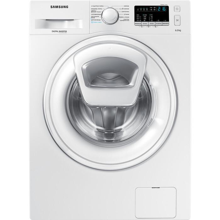 Фото - Стиральная машина Samsung WW60K40G08WDLP стиральная машина samsung ww80r42lhfw