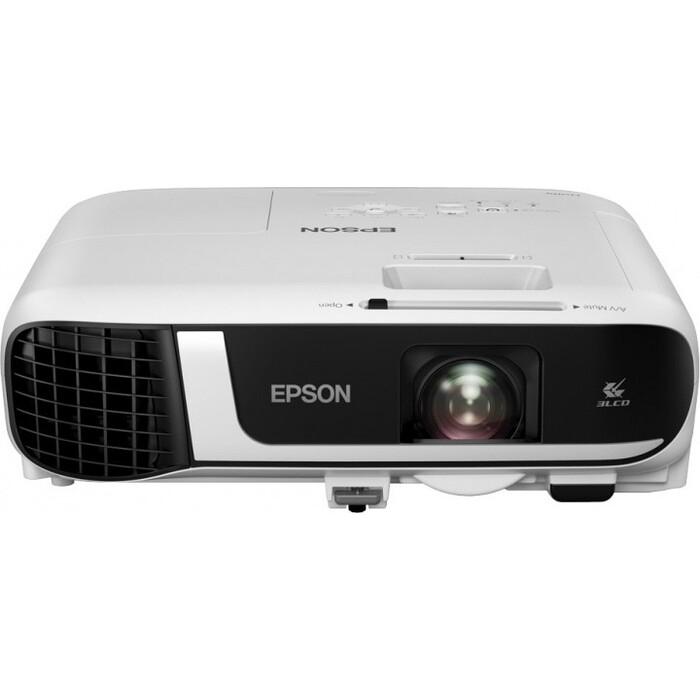 Фото - Проектор Epson EB-FH52 проектор epson eb x06 белый [v11h972040]