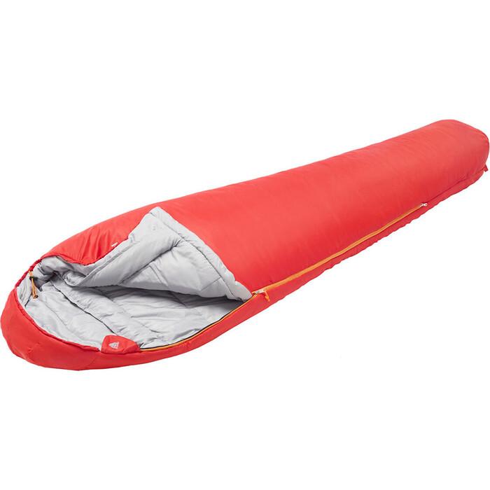 Спальный мешок TREK PLANET Yukon, трехсезонный, правая молния, красный 70397-R