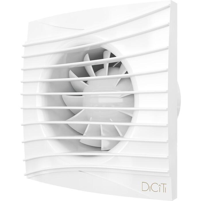 Вентилятор DiCiTi Silent D125 с обратным клапаном (SILENT 5C MRH)