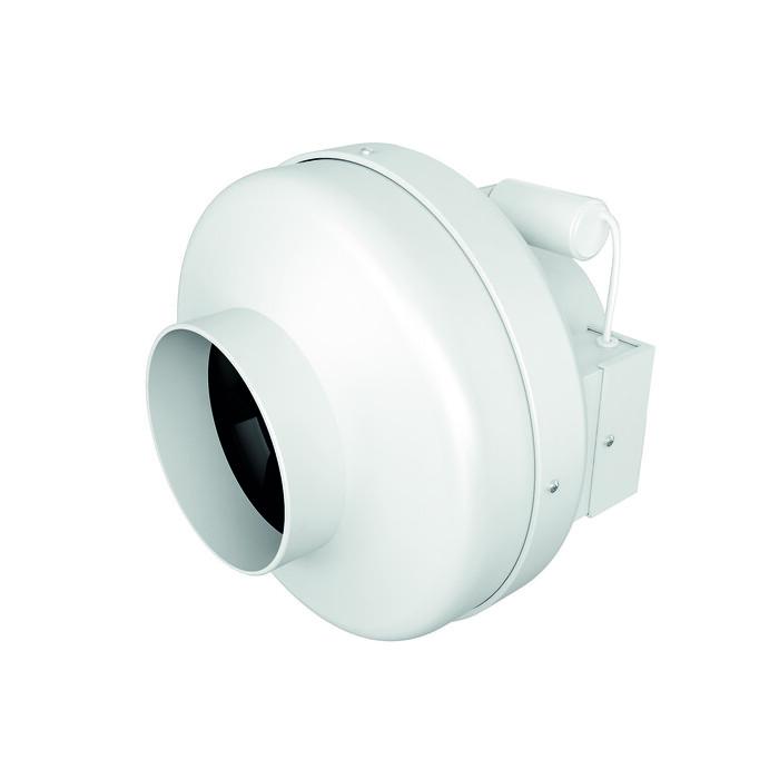 Вентилятор DiCiTi Cyclone D125 центробежный канальный, пластиковый корпус (CYCLONE EBM 125) вентилятор diciti tornado d100 центробежный канальный tornado ebm 100