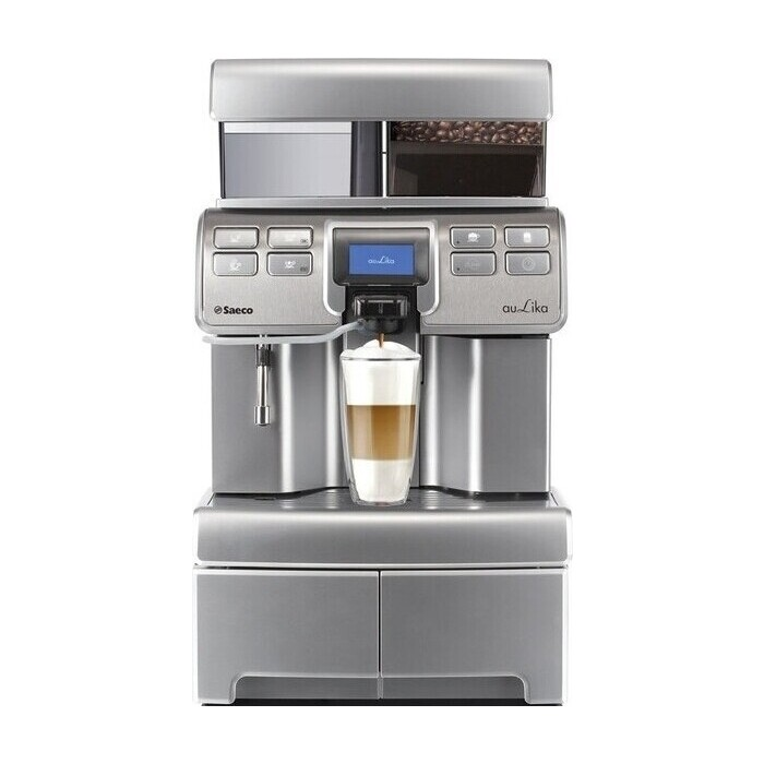 Кофемашина Saeco Aulika Top High Speed Cappuccino RI + AS.BASE RYLO NER/ANT/L
