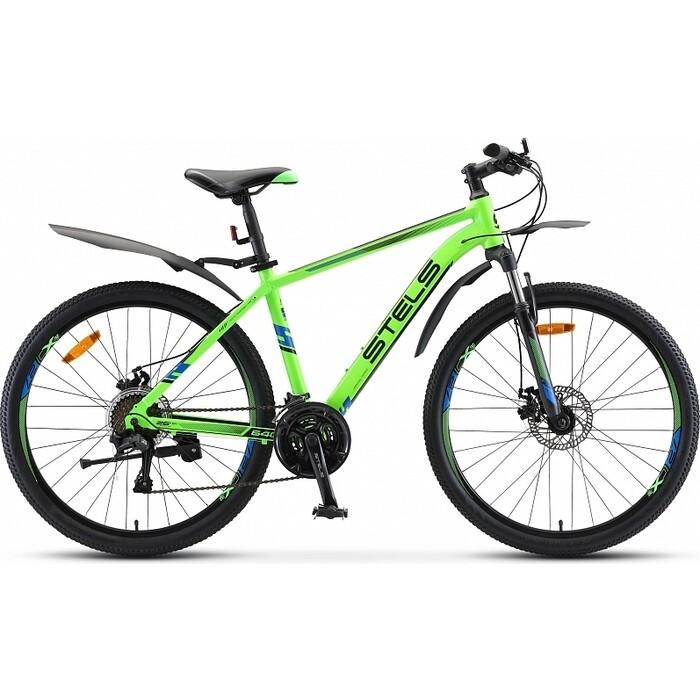 велосипед stels navigator 620 md 26 v010 19 тёмно синий Велосипед Stels Navigator-640 MD 26 V010 19 Зелёный