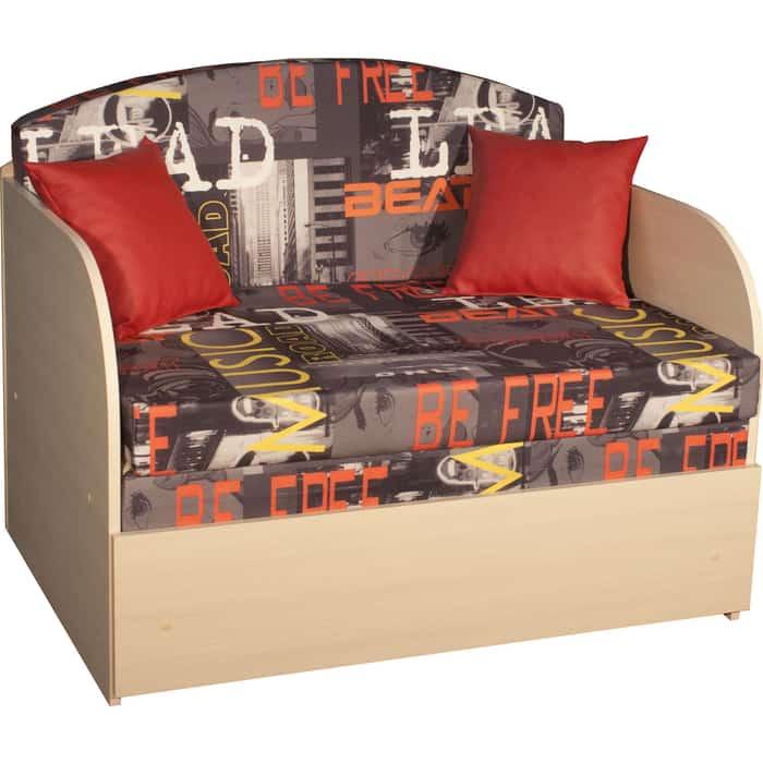 Диван-кровать DИВАН Натали (Мьюзик люкс ред) Д-ваниль арт 80370109