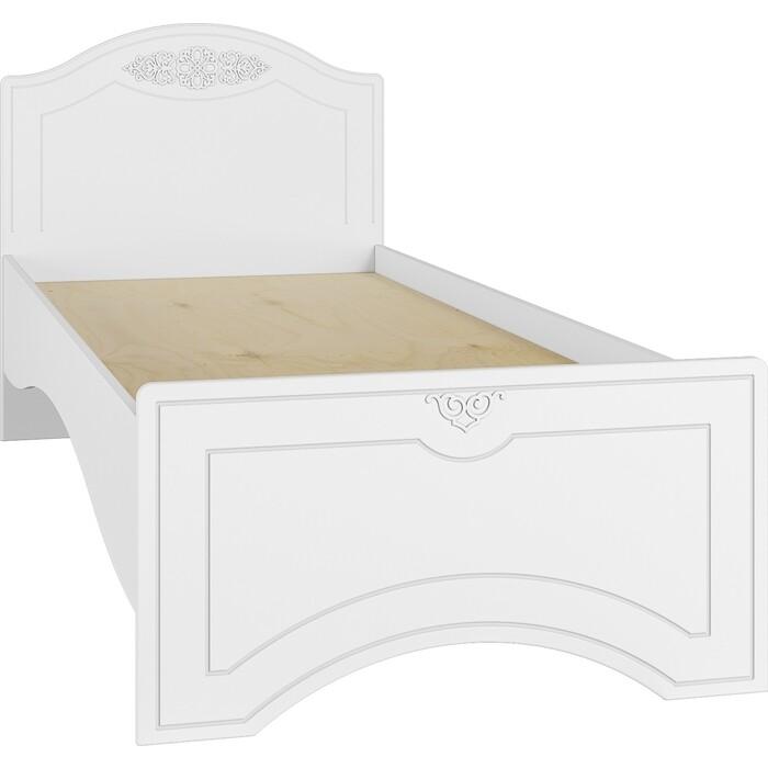 Кровать односпальная Compass Ассоль АС-26 белое дерево