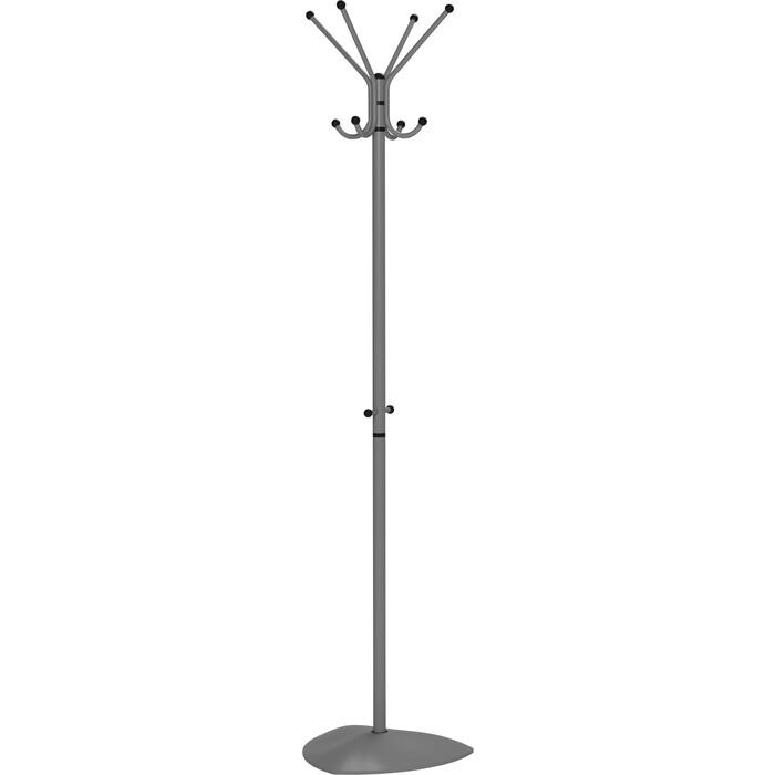 Вешалка напольная Мебелик Пико 31 серый бетон