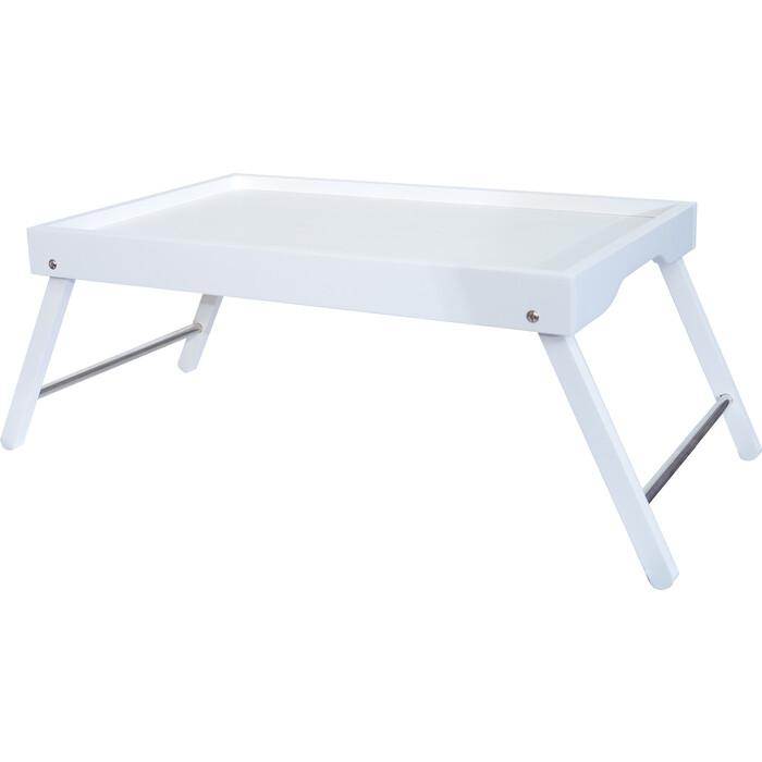 Мебелик Столик-поднос Селена белый