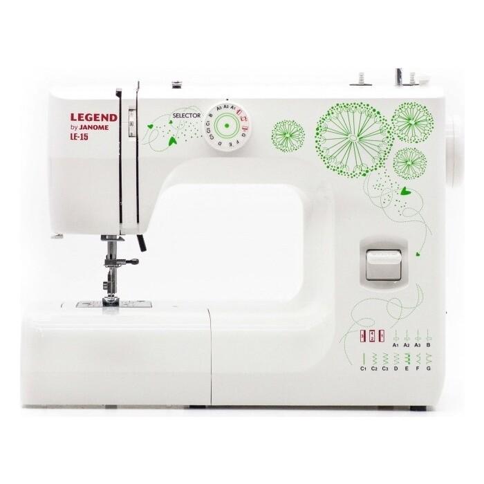 Швейная машина Janome LEGEND by LE15