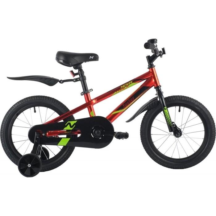 Велосипед NOVATRACK 16 JUSTER сталь красный one size