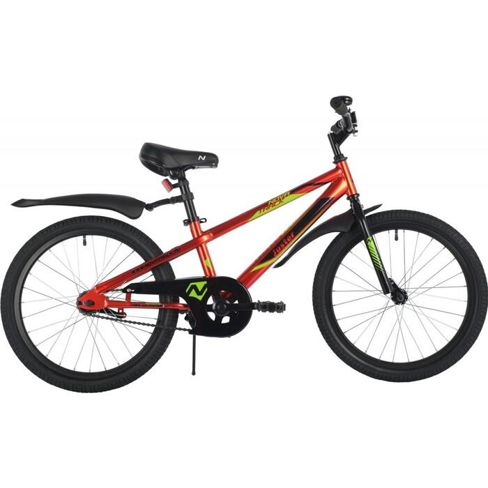 Велосипед NOVATRACK 20 JUSTER сталь красный one size
