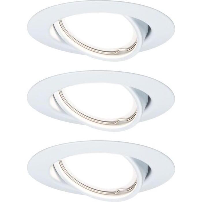 Фото - Светильник Paulmann Встраиваемый светодиодный Base Coin LED 93427 встраиваемый светодиодный светильник paulmann 92537