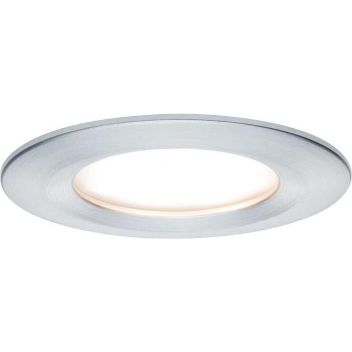 Фото - Светильник Paulmann Встраиваемый светодиодный Nova Coin Led 93461 встраиваемый светодиодный светильник paulmann 92537