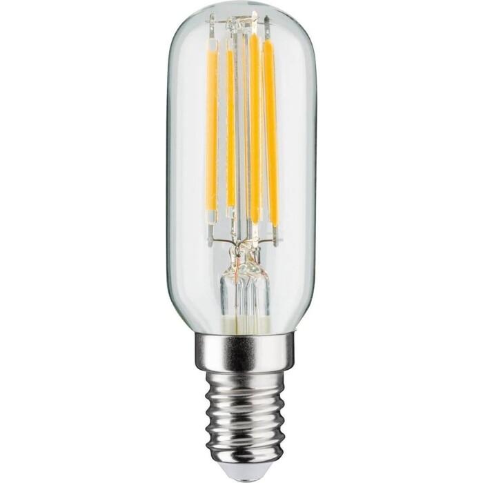 Лампа Paulmann светодиодная филаментная диммируемая E14 4,5W 2700K прозрачная 28506