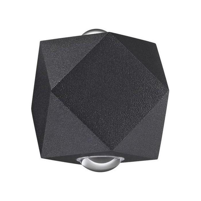Светильник Odeon Light Уличный настенный светодиодный Diamanta 4218/4WL настенный светильник odeon light diamanta 4220 4wl