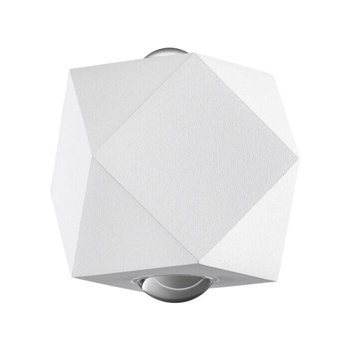 Светильник Odeon Light Уличный настенный светодиодный Diamanta 4219/4WL настенный светильник odeon light diamanta 4220 4wl