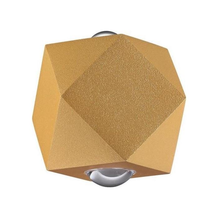 Светильник Odeon Light Уличный настенный светодиодный Diamanta 4220/4WL настенный светильник odeon light diamanta 4220 4wl