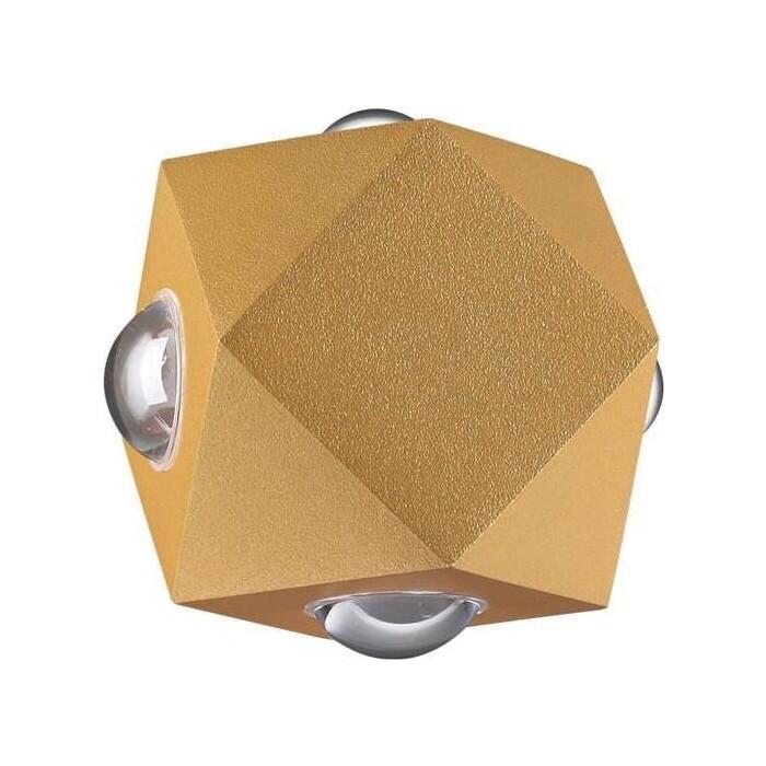 Светильник Odeon Light Уличный настенный светодиодный Diamanta 4220/8WL настенный светильник odeon light diamanta 4220 4wl