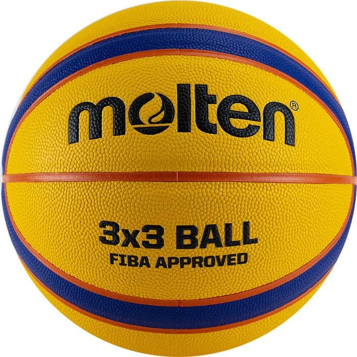 Мяч баскетбольный Molten B33T5000 р. 6, FIBA Appr