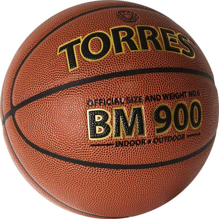 Мяч баскетбольный Torres BM900 B32036, р.6