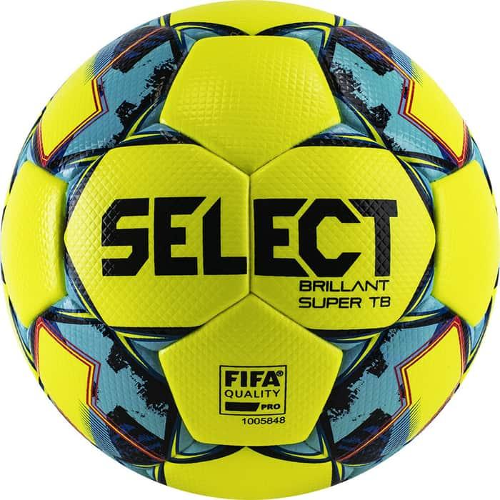 Мяч футбольный Select Brillant Super FIFA TB YELLOW 810316-152,р.5, FIFA PRO