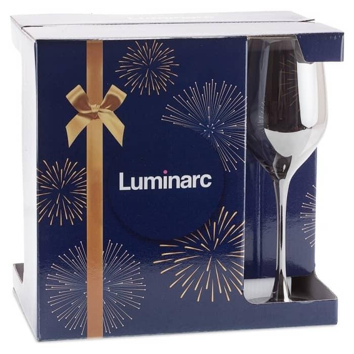 Набор бокалов для вина 4 предметов Luminarc Селест 270 мл (P1637)
