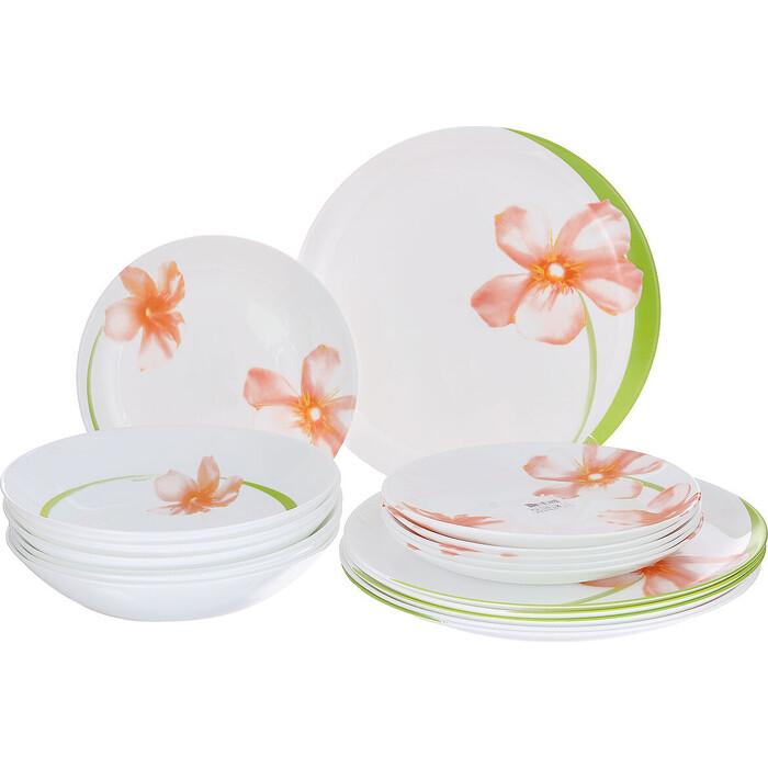 Набор столовой посуды 18 предметов Luminarc Sweet Impression (E4948)
