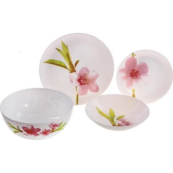 Набор столовой посуды 19 предметов Luminarc Water Color (E4905)