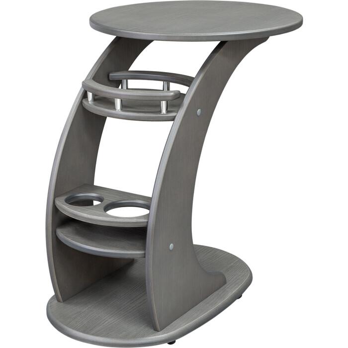 Leset Придиванный столик Люкс серый ясень