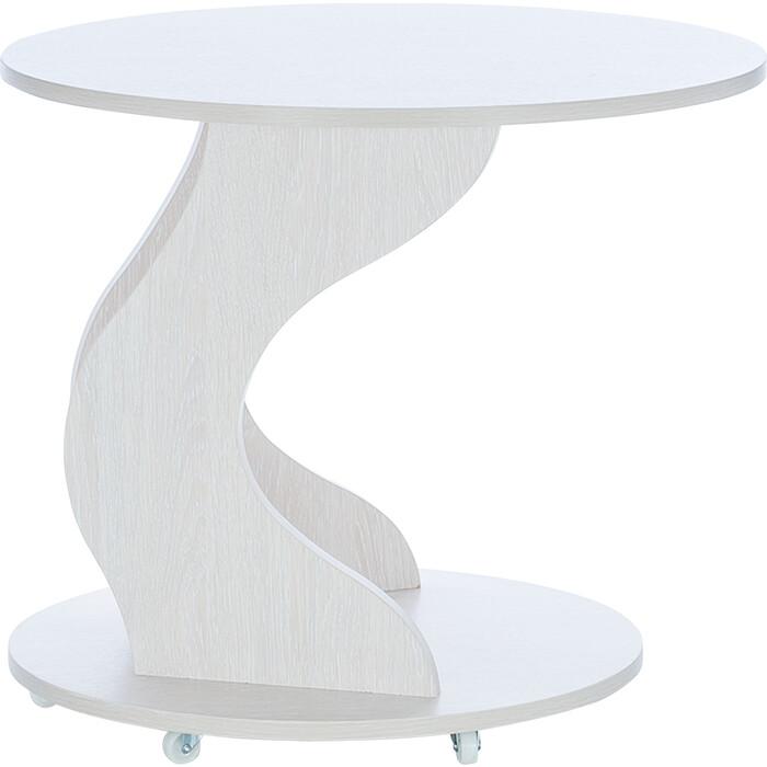 Leset Подкатной столик Сатурн молочный дуб