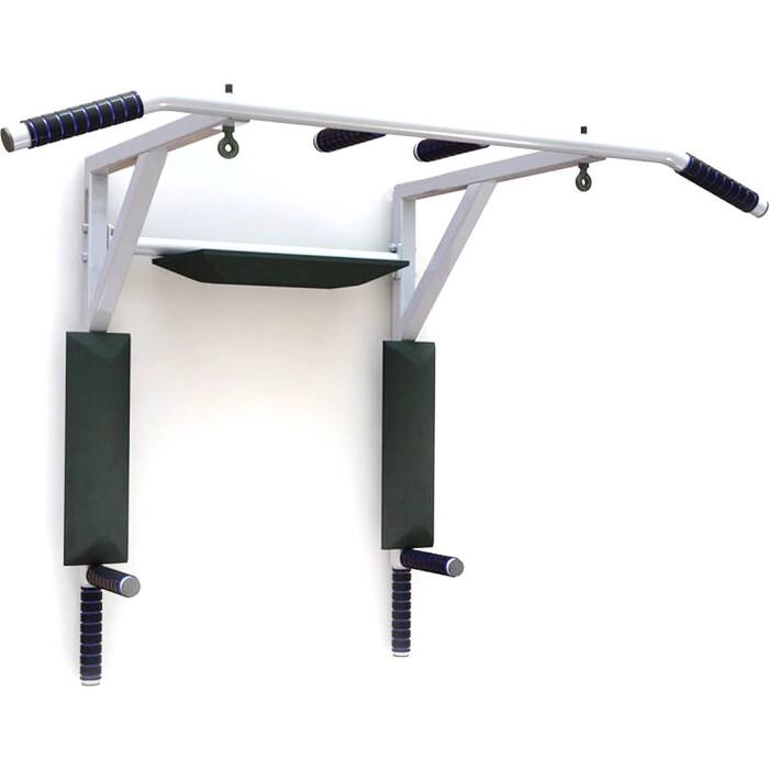 Турник-брусья настенный BaseFit 3 В 1 Basefit Stanley, разборный d-28 мм, ширина 115см вынос 56 см