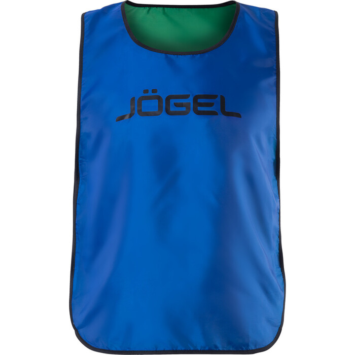 Манишка двухсторонняя JOGEL Reversible Bib, синий/зеленый, детский