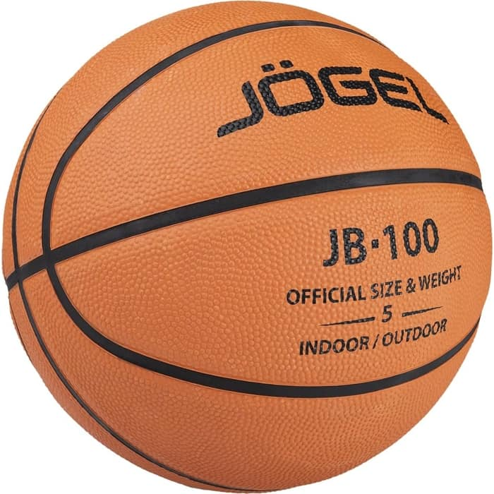 Мяч баскетбольный JOGEL JB-100 (100/5-19) №5 1/30