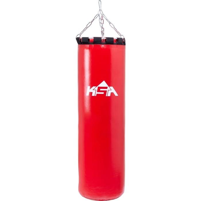 Мешок боксерский KSA PB-01, 140 см, 70 кг, тент, красный