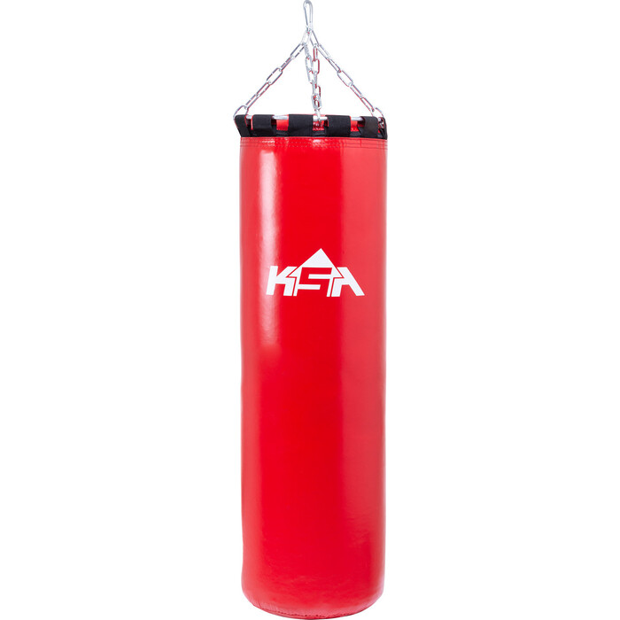 Мешок боксерский KSA PB-01, 70 см, 25 кг, тент, красный