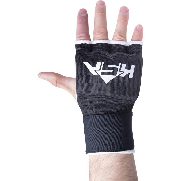 Перчатки внутренние для бокса KSA Bull Gel Black, M