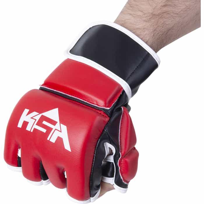 Перчатки для MMA KSA Wasp Red, к/з, M