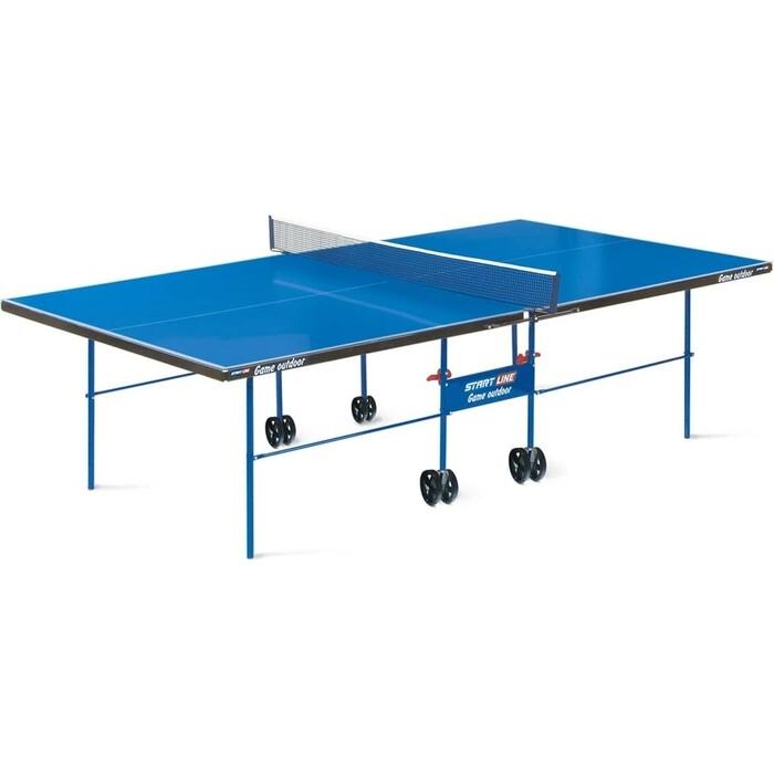 Теннисный стол Start Line Game Outdoor Blue с сеткой