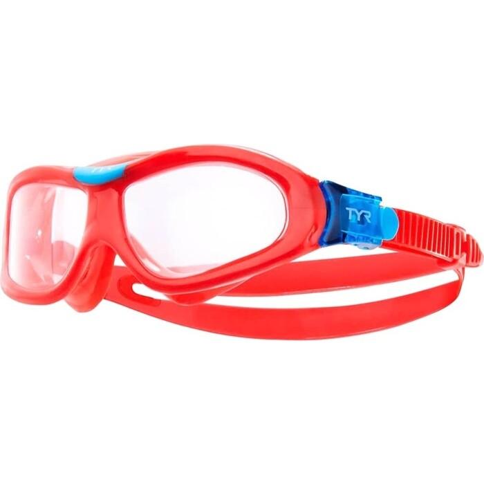 Маска для плавания TYR Orion Swim Mask Kids, красный (LGORNK/158)