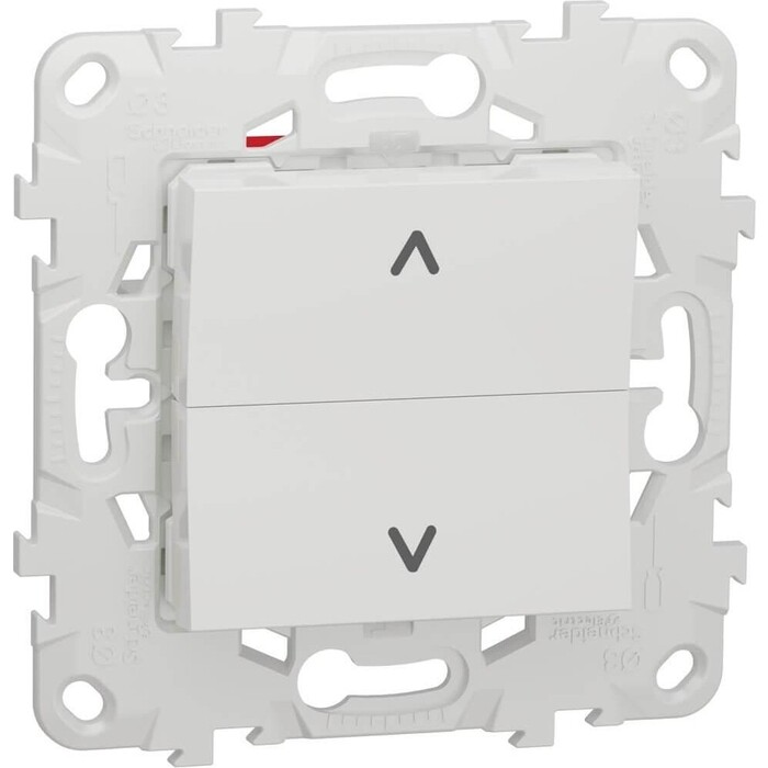 Выключатель Schneider Electric двухклавишный Unica New NU520718