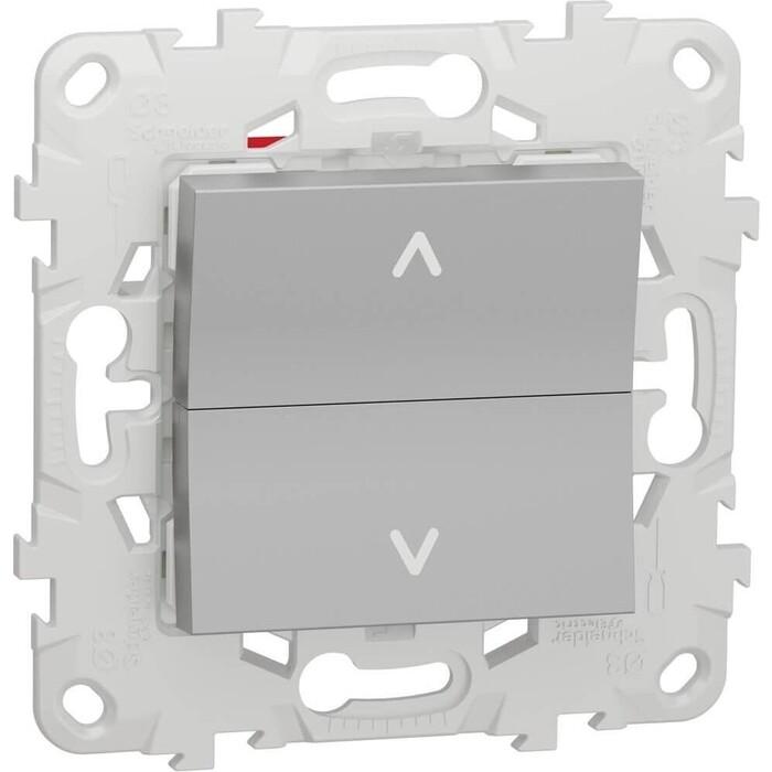 Выключатель Schneider Electric двухклавишный Unica New NU520730