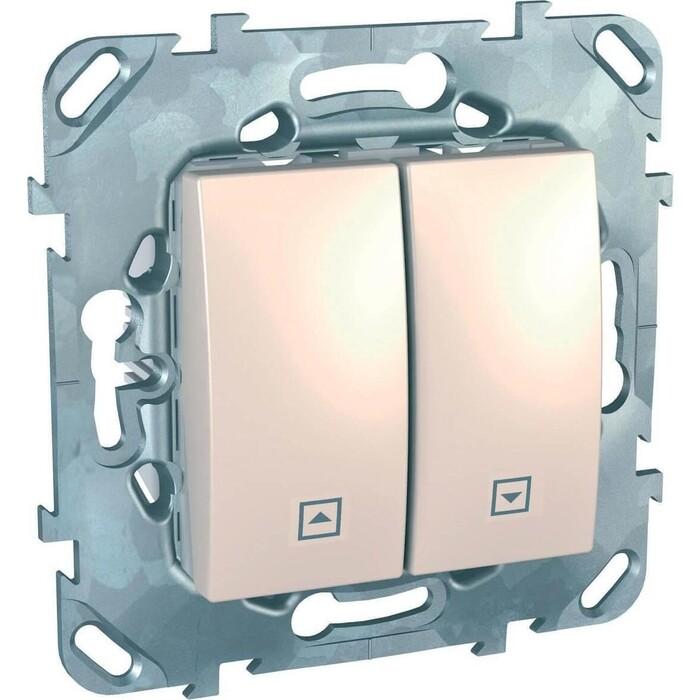Выключатель Schneider Electric двухклавишный для жалюзи Unica MGU5.208.25ZD