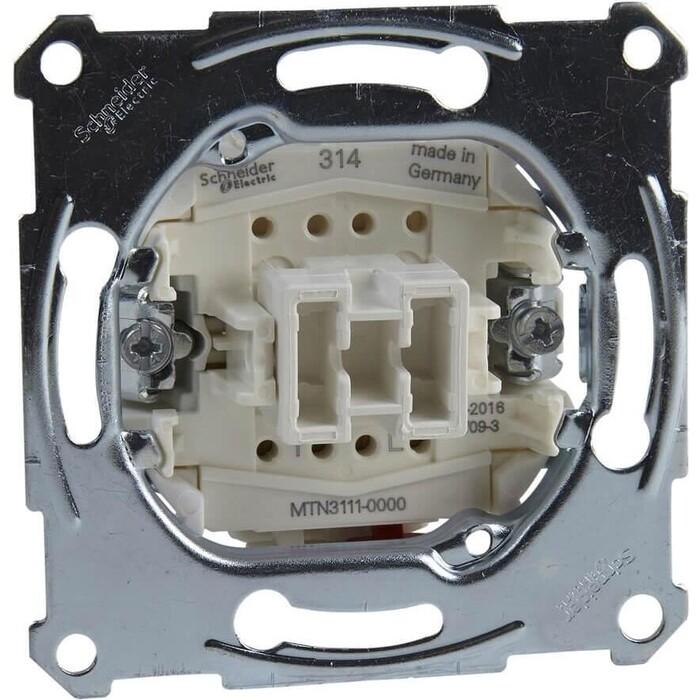 Выключатель Schneider Electric одноклавишный Merten Aquadesign MTN3111-0000