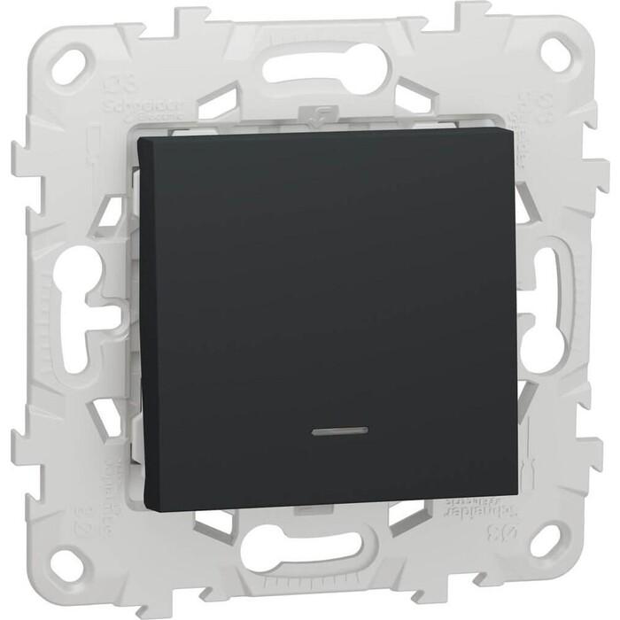 Выключатель Schneider Electric одноклавишный Unica New NU520154N