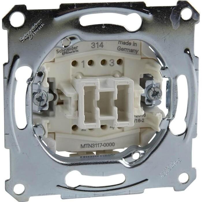 Переключатель Schneider Electric одноклавишный Merten Aquadesign MTN3117-0000