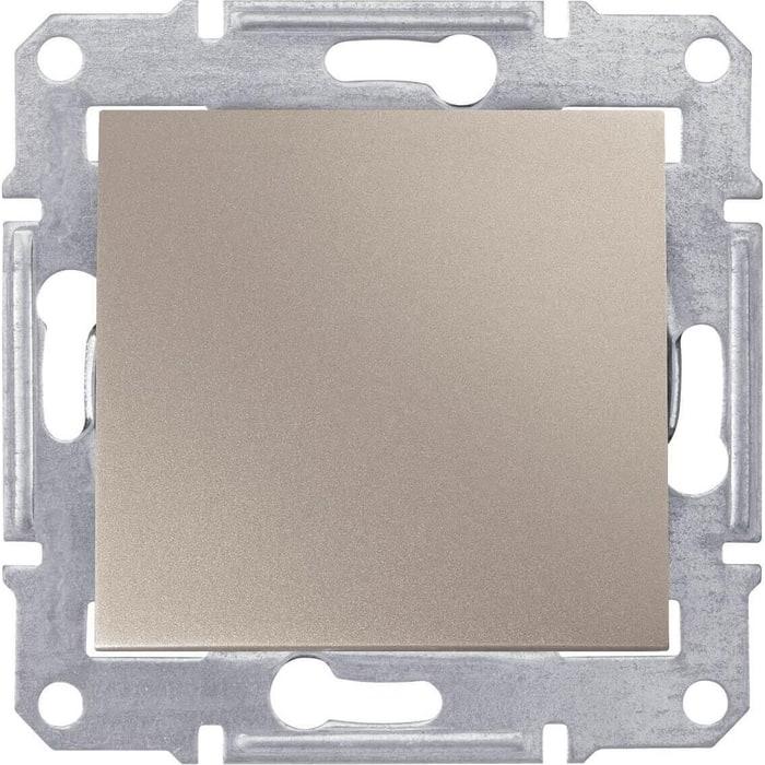 Переключатель Schneider Electric одноклавишный Sedna 10A 250V SDN0400168