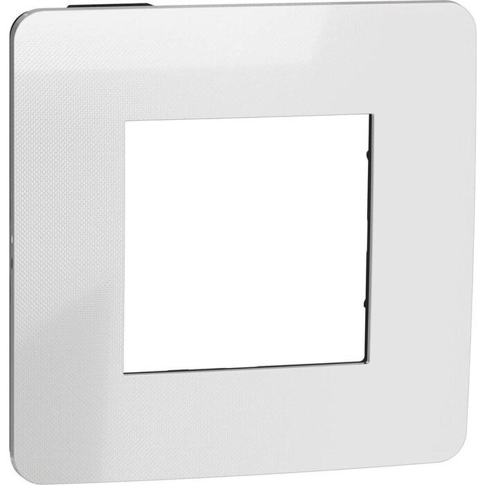 Рамка Schneider Electric 1-постовая Unica New NU280256