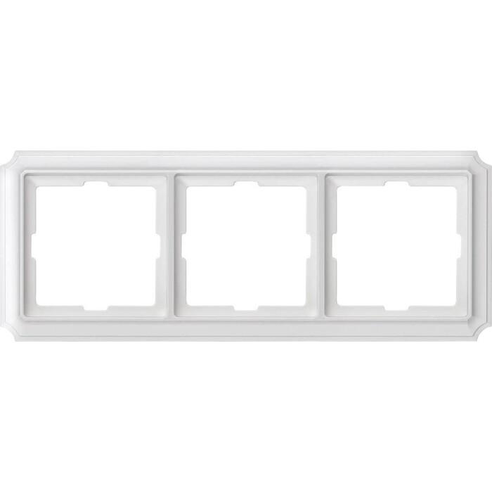 Рамка Schneider Electric 3-постовая Merten Antique/Artec MTN483319