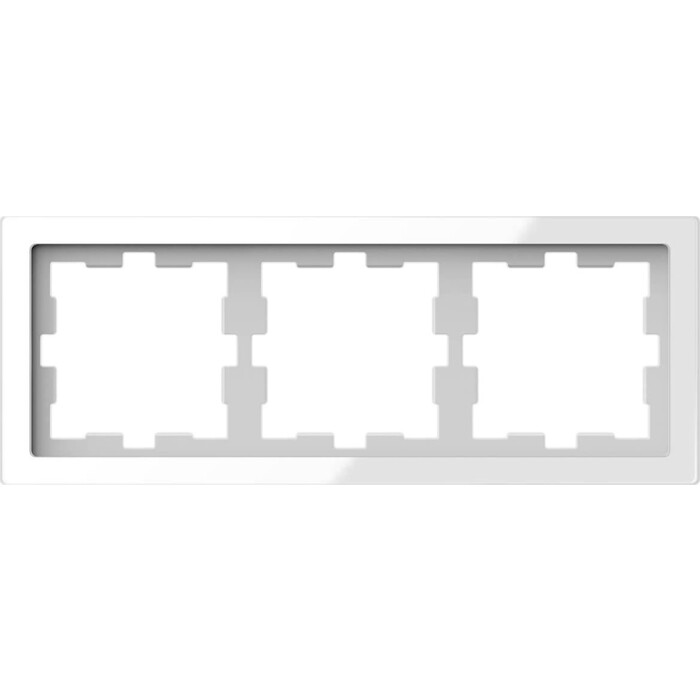 Рамка Schneider Electric 3-постовая Merten D-Life MTN4030-6520