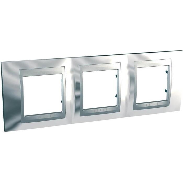 Рамка Schneider Electric 3-постовая Unica Top MGU66.006.010